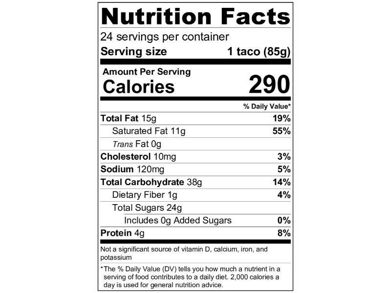 Klondike Choco Taco 24 ct. Box CASE