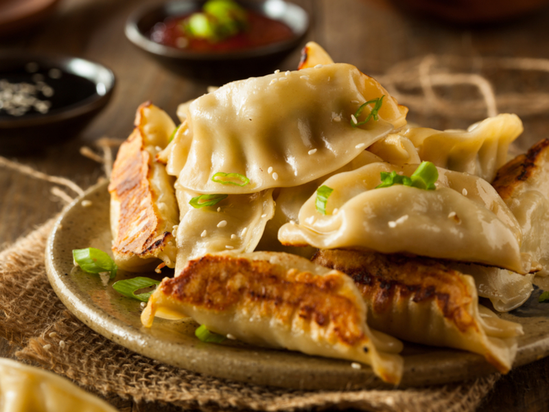 Ling Ling All Natural Chicken And Vegetable Potstickers 4 2 Lb Bag Each 17 99